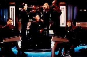 Star Trek First Contact Crew