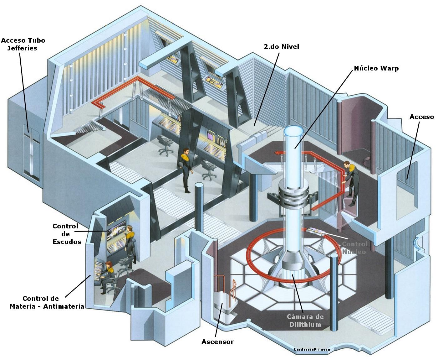 [SCHEMATICS_48DE]  Star Trek Starships Interiors Schematics Blueprints | Voyager Schematics |  | Universo Star Trek