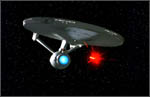 USS Enterprise-A open fire photon torpedo