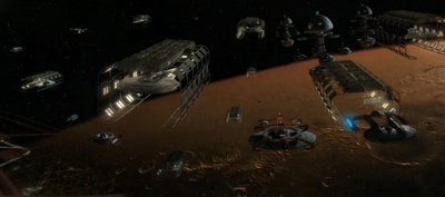 Utopia Planitia Shipyard Marte