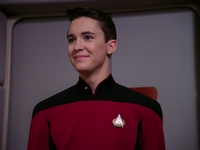 Wesley Crusher Star Trek