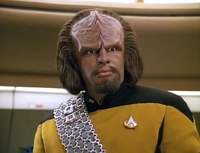 Resultado de imagen de worf star trek