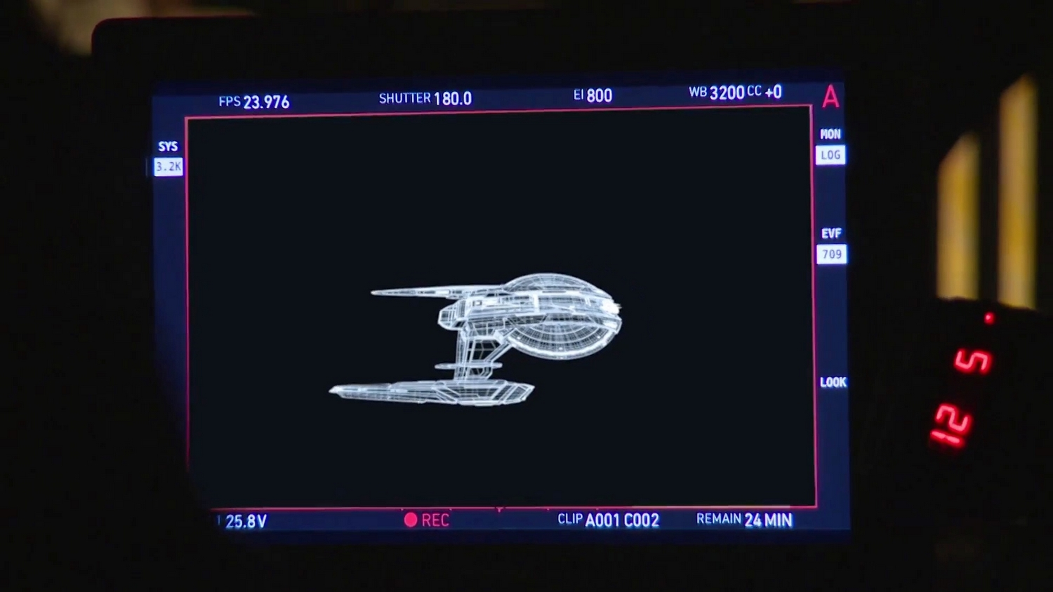 Star Trek Discovery Starship